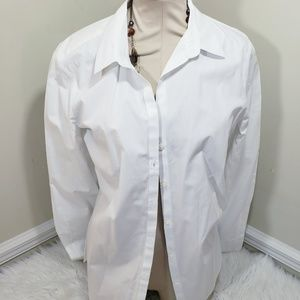 Old Navy Tops - Women's Classic White Button-Up
